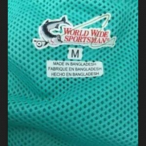 world wide sportsmen Shirts - World Wide Sportsman- Long Sleeve M Fishing Shirt